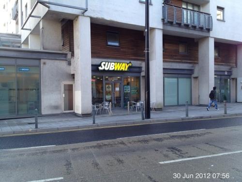 Subway - top end of Queen Street