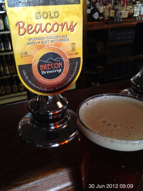 Beacons Gold - Brecon Brewing