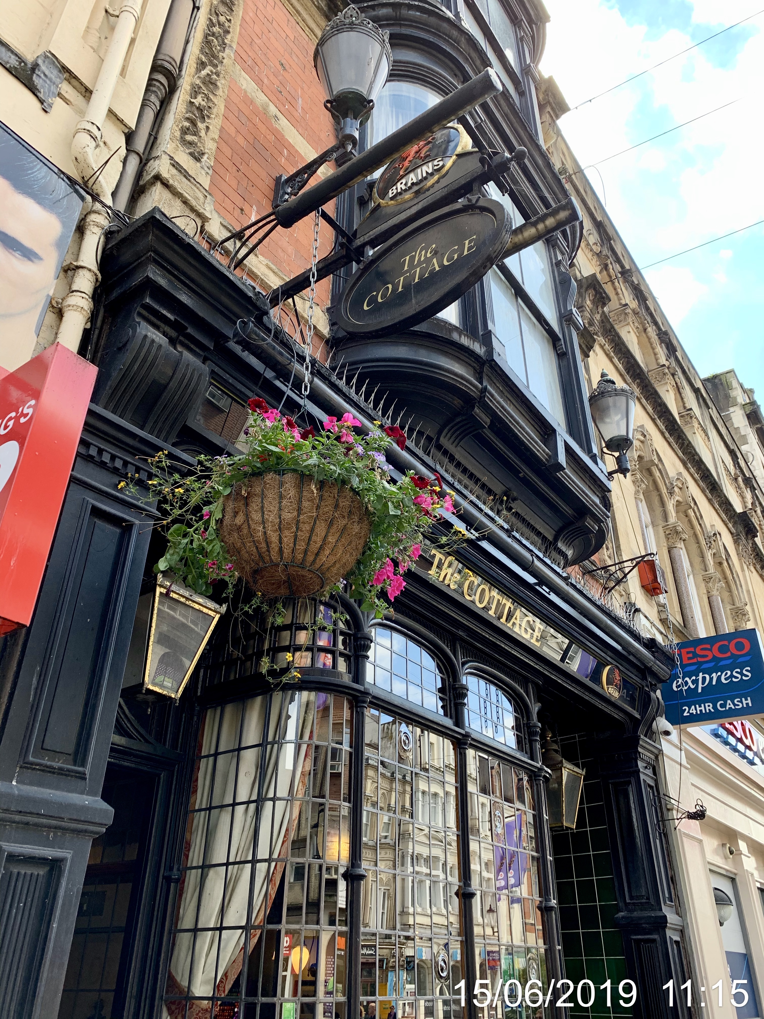 The Cottage - Cardiff. A Brains Pub