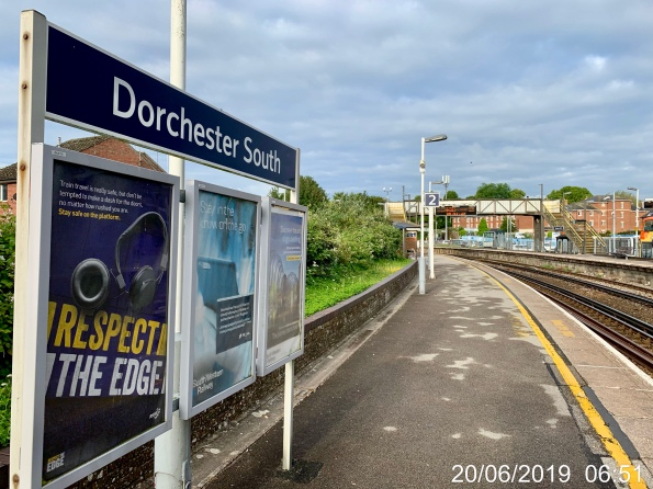 Dorchester South Railway Station