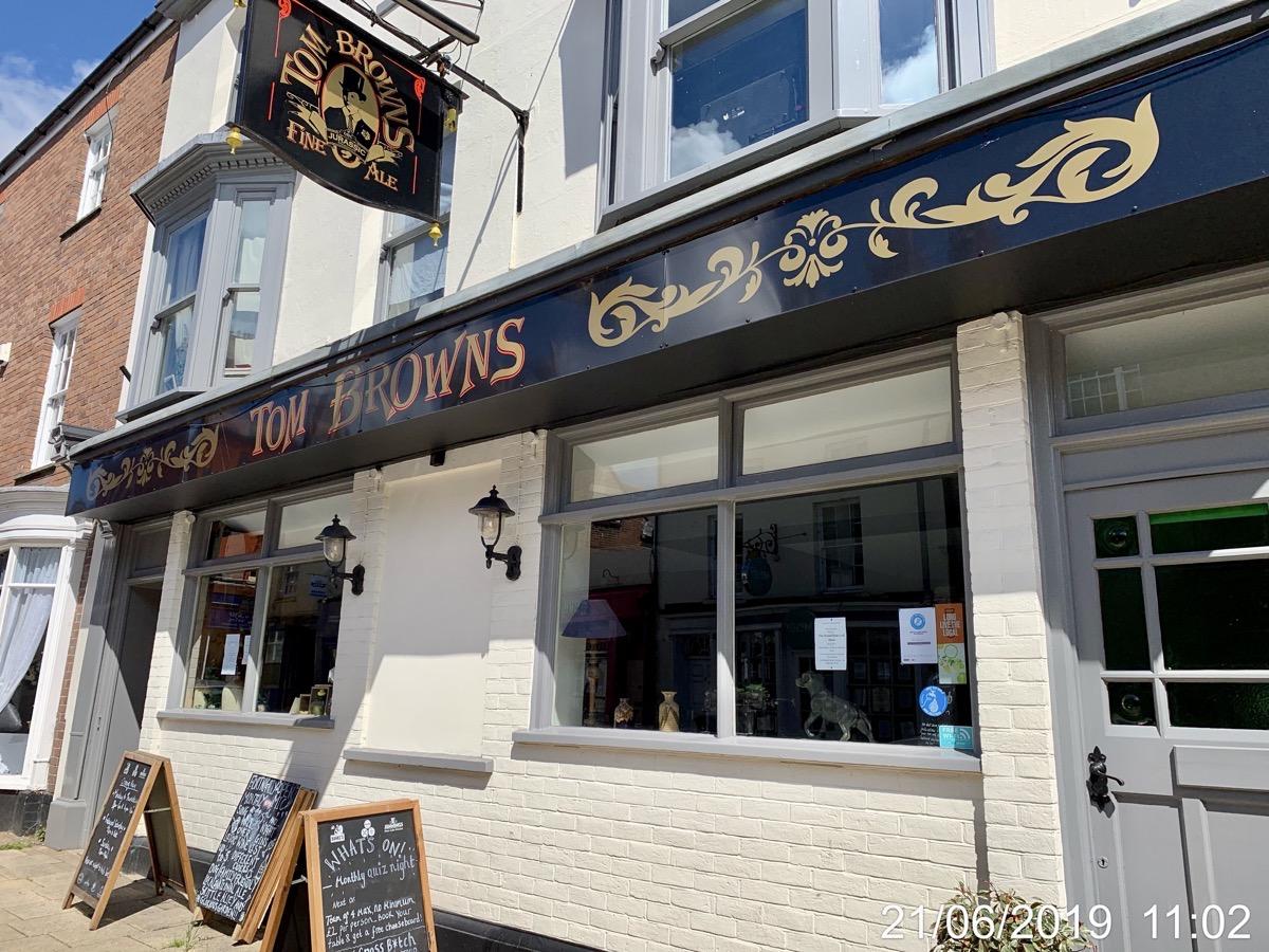 Tom Browns - Ex DBC Pub?