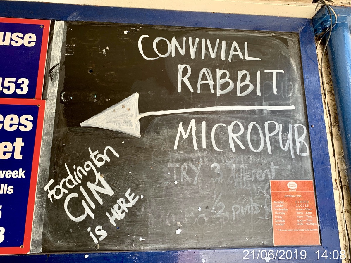 The Convivial Rabbit - Micro Pub