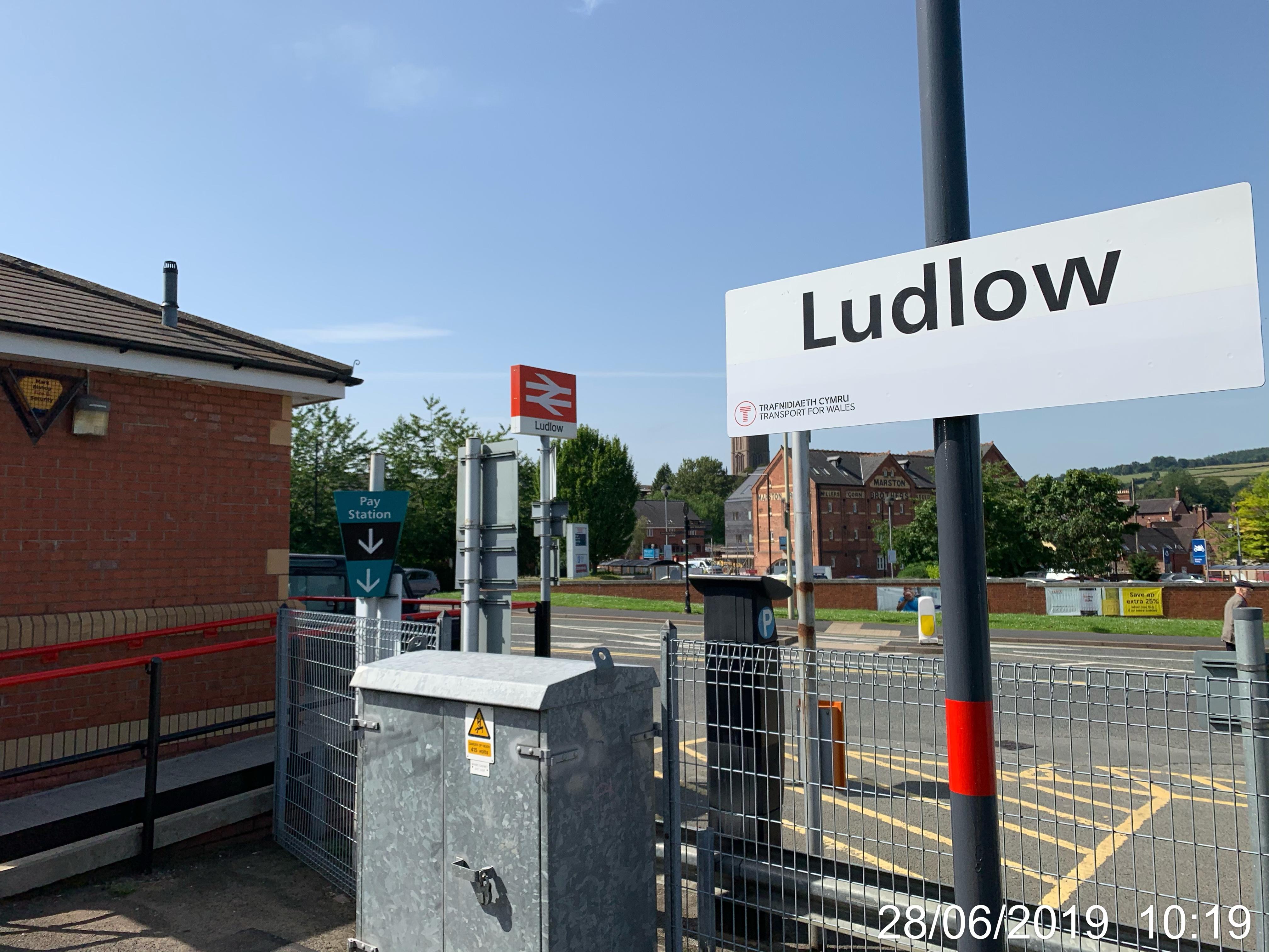 Ludlow Railway Station