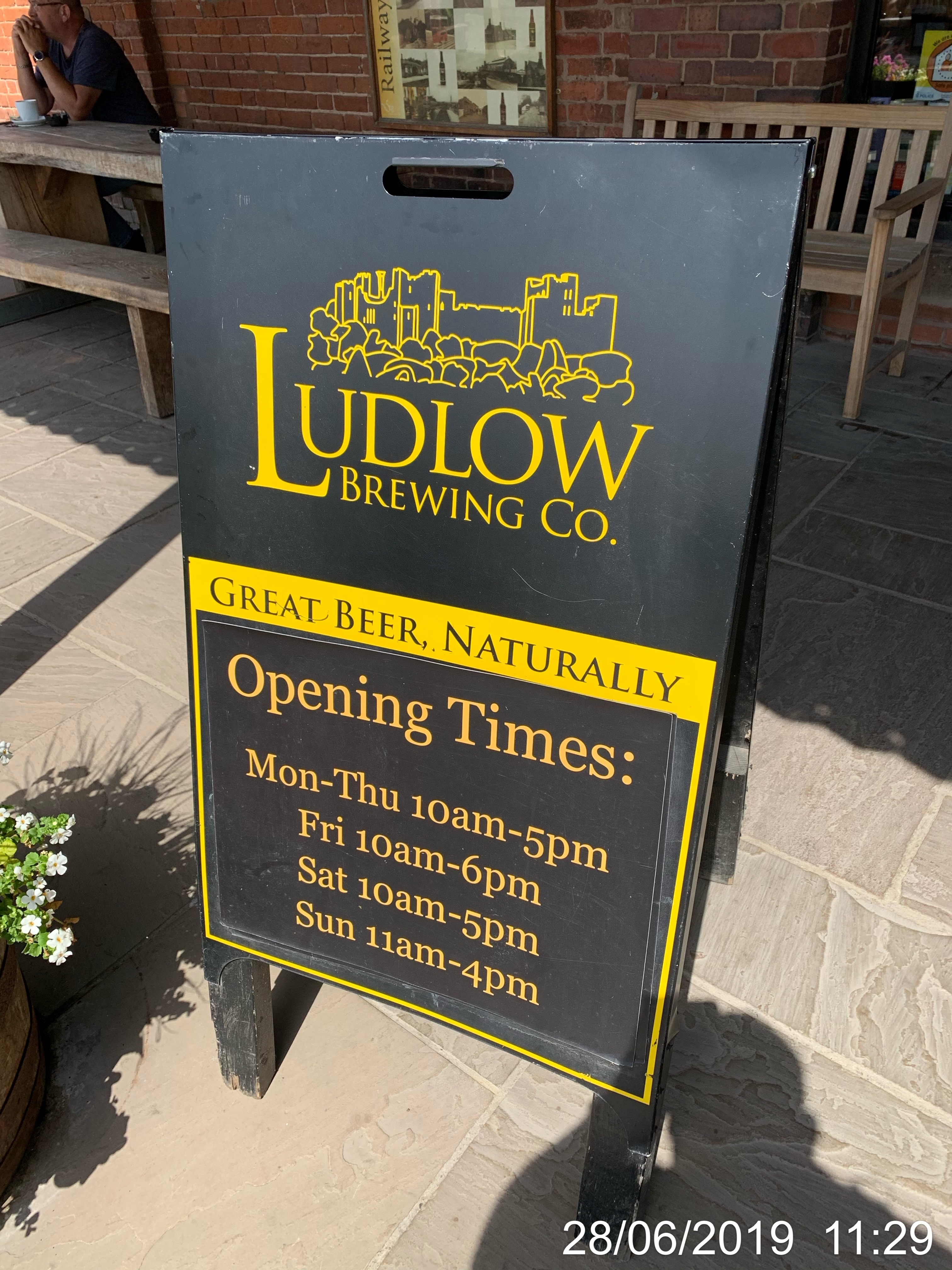 Ludlow Brewery Opening Times